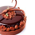 brownie au chocolat par Hans Ovando