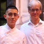 Steben Gabiño remporte le prix du meilleur souvenir de Salado de Segundo.