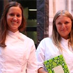 Les meilleurs anciens élèves de SAIA Food Safety, Elena Schmidt, Laia Almirall et Gina Miserachs (absents).