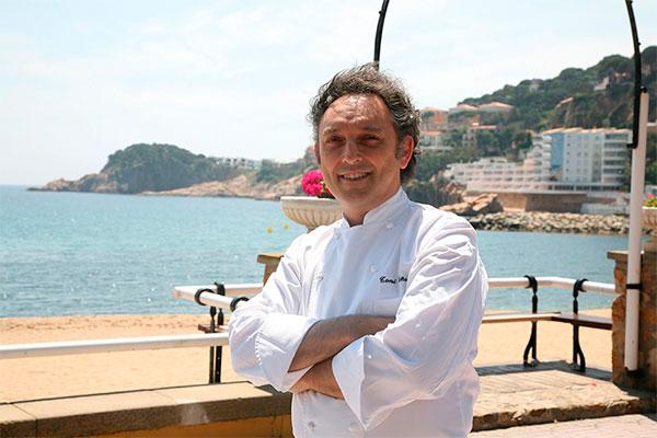 le chef pâtissier Toni Viñas